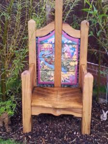 Llys Caradog Story Telling Chair and Sensory Garden,2013.