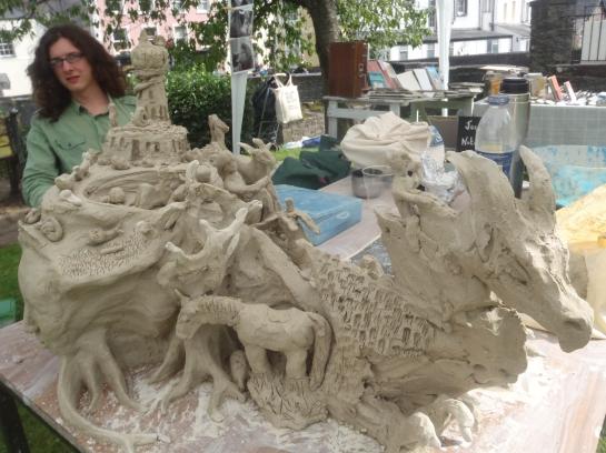 Brecon Jazz Join-In Sculpture