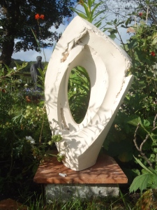 The Edge I , 52cm H, £730.(sold)