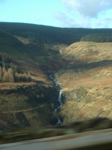 The view from my door step;One of many waterfalls in beautiful Blaencwm,Rhondda