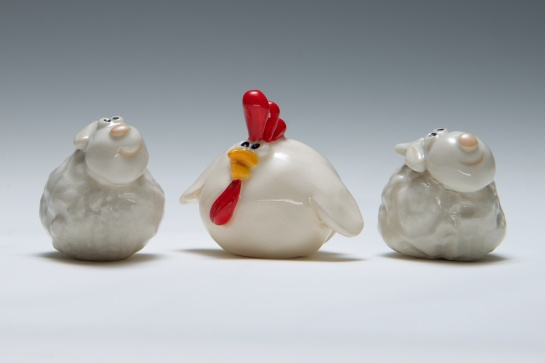 Kay Milward, adorable characters only 4cms high.