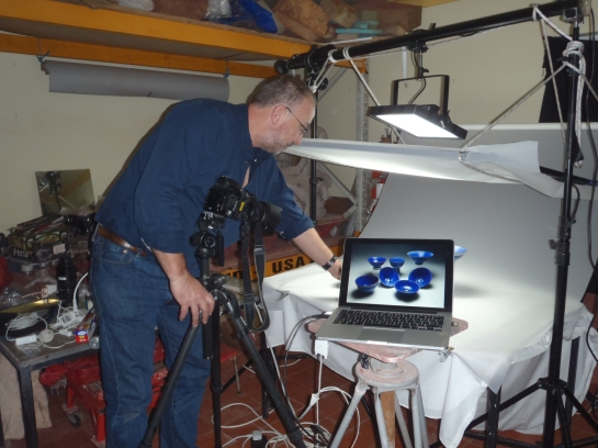 Stephen Foote, Cameraman and Photographer at Osprey Studios.
