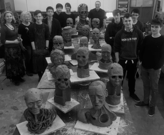 Monmouth School A level students 2 day Workshop with Rebecca Buck.