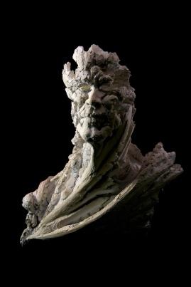 Wyvern IV, 62cm H x 55cm W x 38cm D, ceramic.