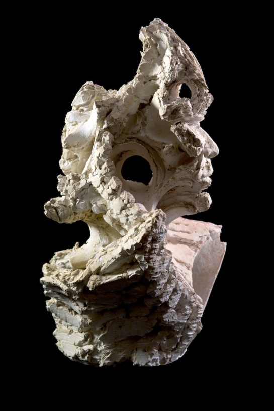Leviathan I, 2014, 59cm H x 44cm W x 33cm D, ceramic.