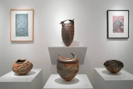 Melanie Ferguson extra ordinary pots encompass the universe and lead you beyond your borders.