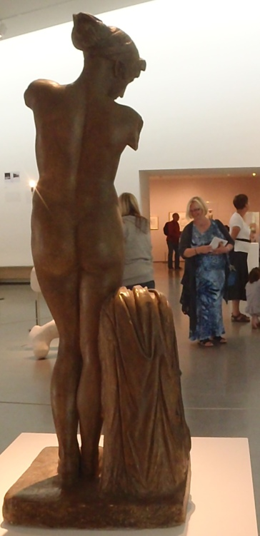 Both Hepworth and Moore studied the figure extensively in the traditional way.