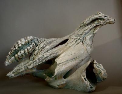 Leviathan V, 45cm H x 65cm L x 23cm D.