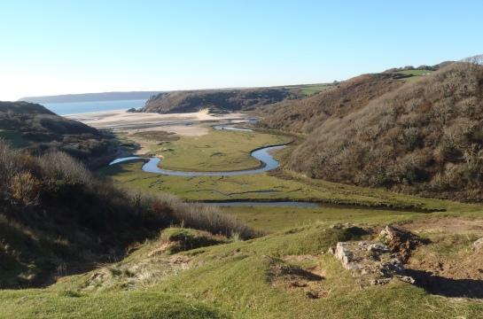 Three Cliffs Bay, Southgate, Gower