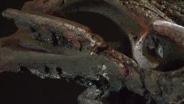 Antarctic Guardian I, 33cm H x 83cm W x 36cm D.
