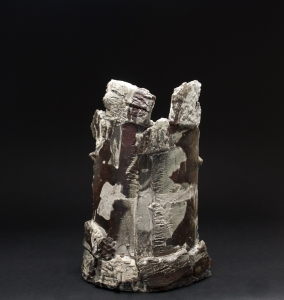 Jeff Shapiro  Shield Series  , 2012 Woodfired Ceramic 20 x 13.5 x 8 inches 50.8 x 34.3 x 20.3 cm JSh 42